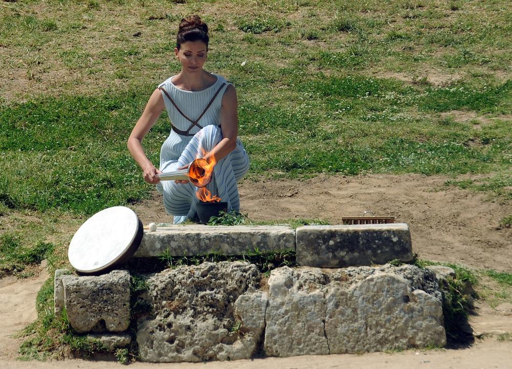 Αφή Ολυμπιακής Φλόγας