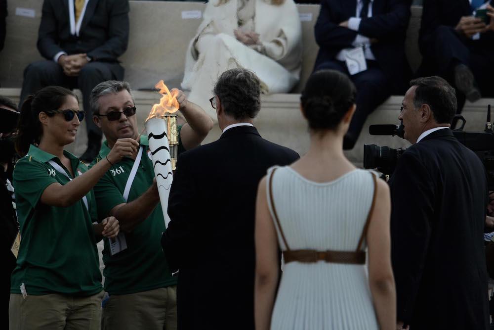 Ολυμπιακήν φλογα για ριο