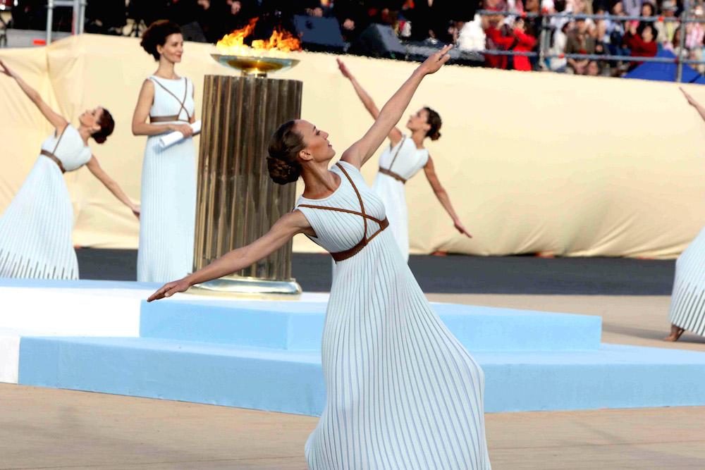 Ολυμπιακή φλόγα για ρίο
