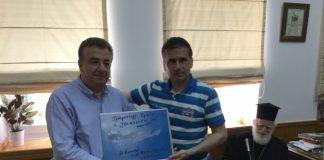 Ο Ρώσος κοσμοναύτης Γιούρι Μαλέντσενκο στην Κρήτη