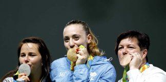 Αννα Κορακάκη Χρυσή Ολυμπιονίκης