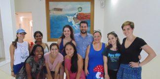 Φοιτητές του Πανεπιστημίου Drexel στη Φιλαδέλφεια των ΗΠΑ στην περιφέρεια Κρήτης