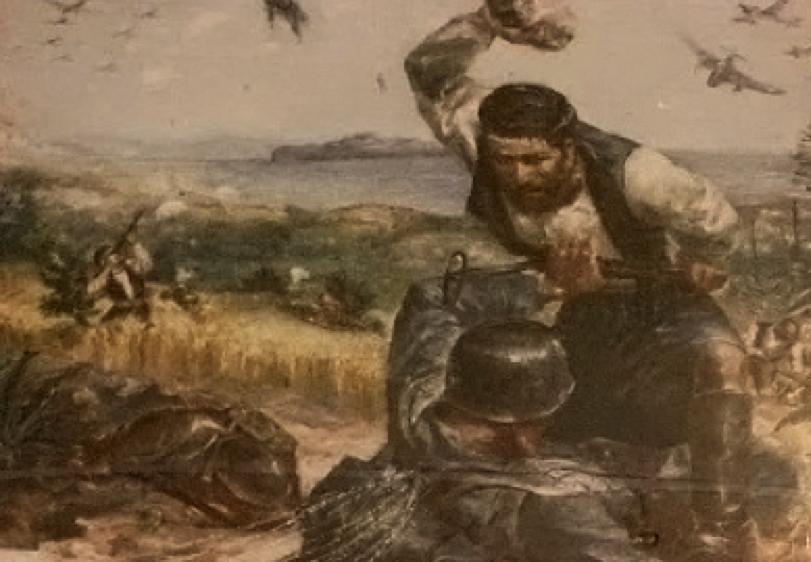 Η συμμετοχή του κρητικού πληθυσμού στην εποποιϊα της Μάχης της Κρήτης ήταν καθολική. Κρήτες χωρικοί, άντρες, γυναίκες και παιδιά με αξίνες, τσουγκράνες, πέτρες και ρόπαλα, ορμούσαν με ιδιαίτερη αυταπάρνηση κατά του Γερμανού εισβολέα.