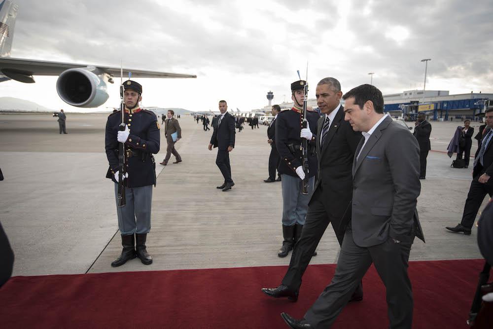 Αναχώρηση Μπαράκ Ομπάμα από την Αθήνα