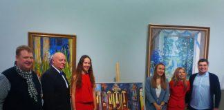 Ορθόδοξοι Ναοί της Ελλάδας» η έκθεση ζωγραφικής των καλλιτεχνών Καρολίνας Χατκέβιτς και Αλεξάνδρας Μπαρίχινα