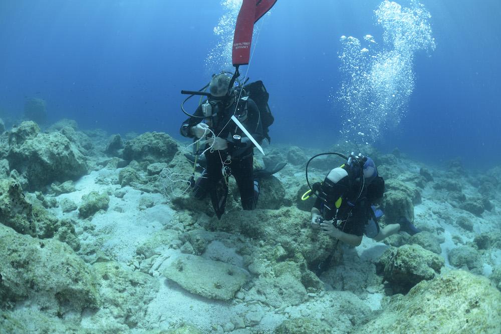 Νάξος υποβρύχια έρευνα