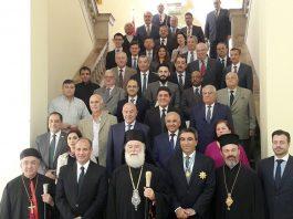 Ο Πατριάρχειας Αλεξανδρείας τίμησε το διπλωματικό σώμα