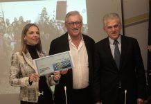 Η Πρόεδρος του Ιδρύματος International Foundation for Greece, ο Jimmy Jamar, επικεφαλής της αντιπροσωπείας της Ευρωπαϊκής Επιτροπής στο Βελγιο και ο επικεφαλής των γραφείων της Ευρωπαϊκής Επιτροπής στην Αθηνα Πάνος Καρβούνης