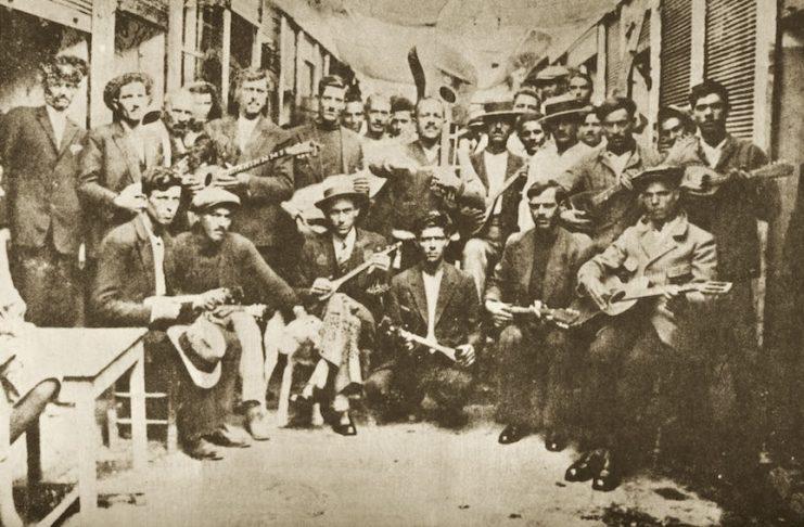 Ρεμπέτες 1933