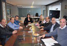 Συνάντηση της Υπουργού Τουρισμού Έλενας Κουντουρά με τους Προέδρους των Εργατικών Κέντρων Κρήτης και Ρόδου &εκπροσώπους της ΠΟΕΕ-ΥΤΕ για την μετεκπαίδευση και τα θέματα που απασχολούν τον κλάδο