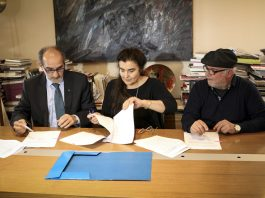 Υπογραφή τριετούς σύμβασης για το Διεθνές Φεστιβαλ Κινηματογάφου Ολυμπίας για παιδιά και νέους