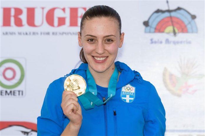 Άννα Κορακάκη Χρυσό στο σπορ πιστόλι 25μ., Παγκόσμιο Κύπελλο σκοποβολής, Γκουανταλαχάρα, Μεξικό