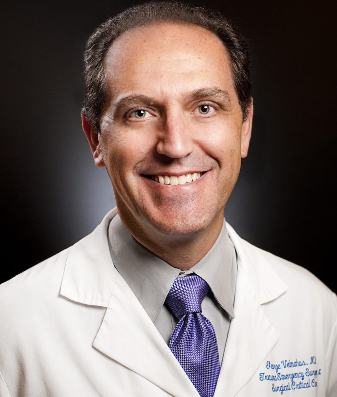 Dr. George Velmahos, Emergency Trauma Surgeon.