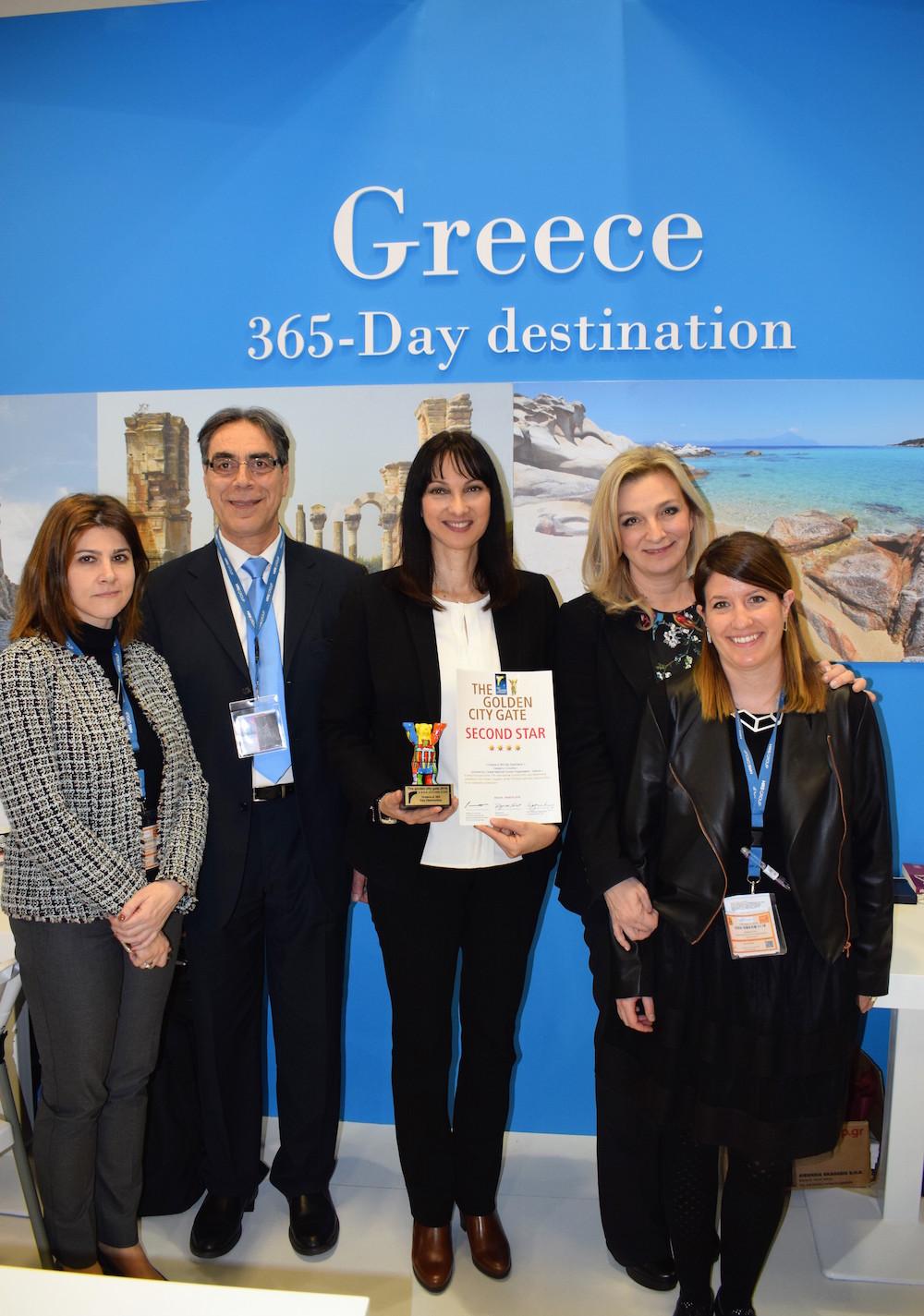 Greece-A 365-Day Destination, Βραβείο βίντεο ΕΟΤ