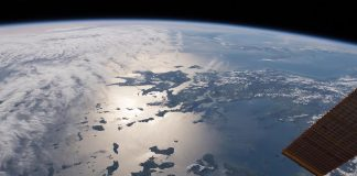 Η Ελλάδα από το διάστημα! Greece from space! International Space Station, Expedition 55 crew, on April 2 2018.
