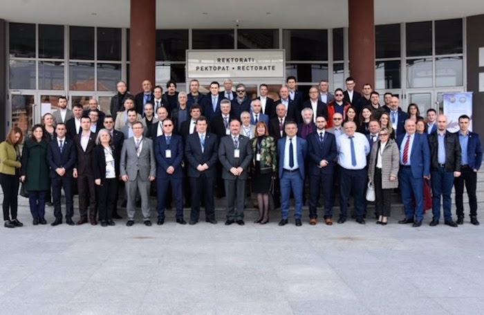 Οι συμμετέχοντες στο 4o Ετήσιο Συνέδριο της Ένωσης Πανεπιστημίων των Βαλκανικών Χωρών