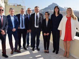 Συνάντηση της Υπουργού Τουρισμού Έλενας Κουντουρά με την αντιπροσωπεία της Επιτροπής Μεταφορών και Τουρισμού του Ευρωπαϊκού Κοινοβουλίο