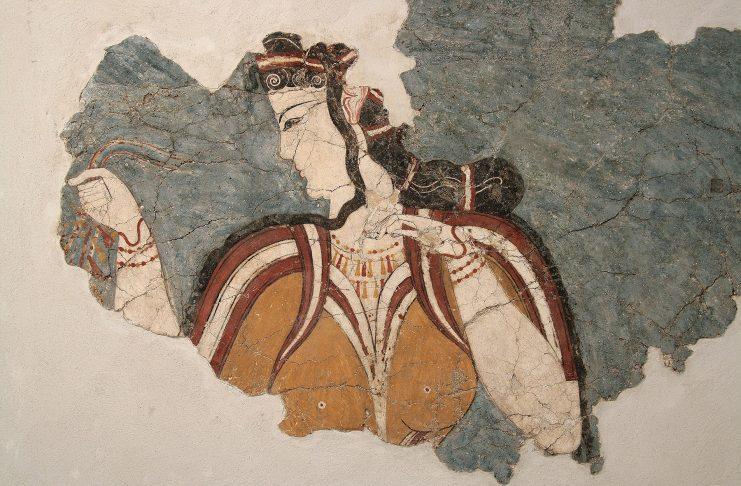 Ενδυμασίες του προϊστορικού Αιγαίου