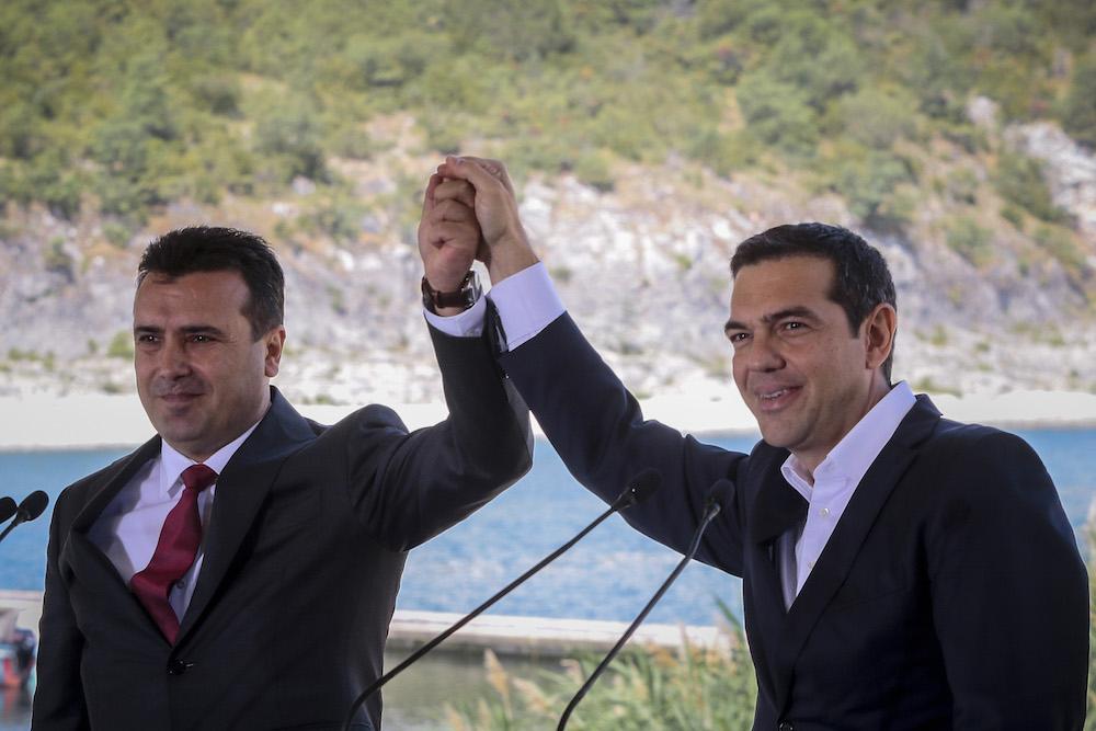 Πρέσπες, Συμφωνία για όνομα Σκοπίων