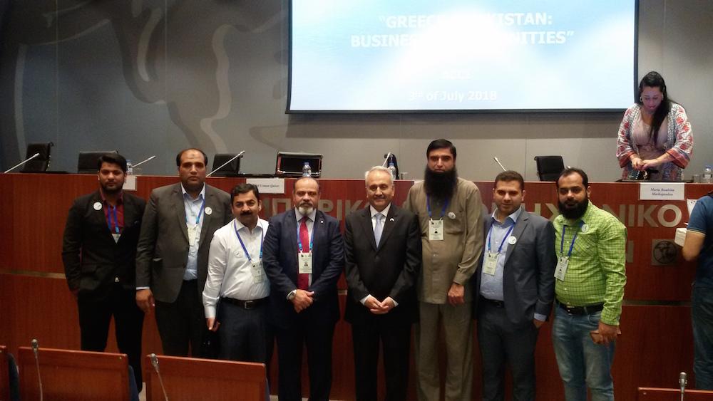 Συνάντηση στο ΕΒΕΑ με την 1η Επιχειρηματική Αποστολή από το Πακιστάν