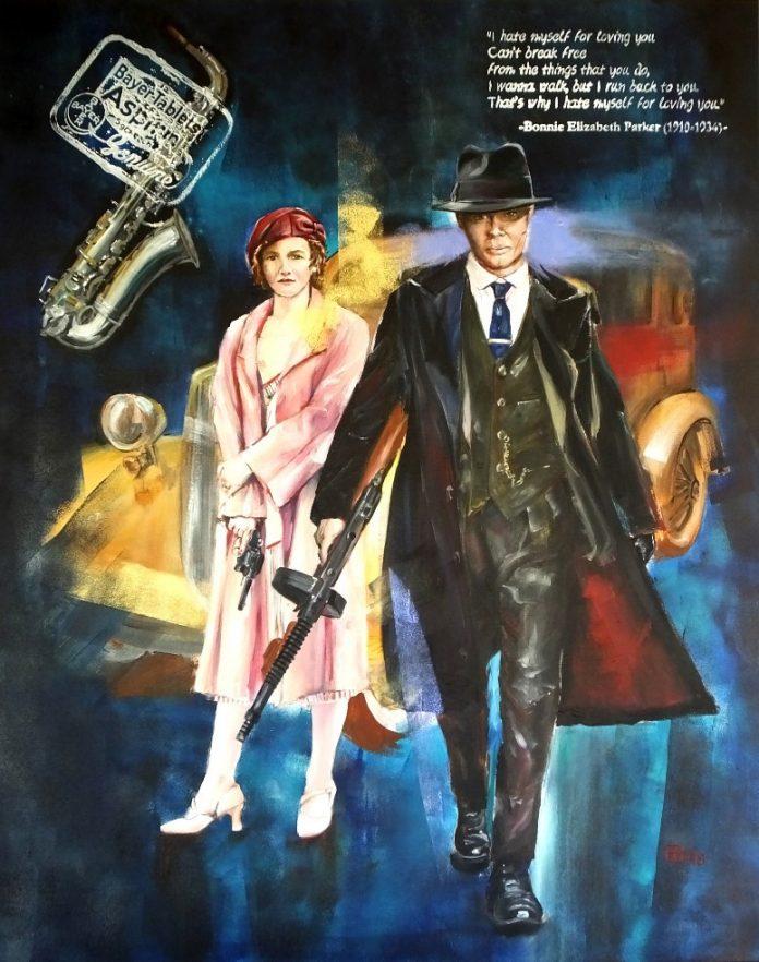 """Στη Σαντορίνη η έκθεση """"Bonnie & Clyde"""" του #Rest@rt"""