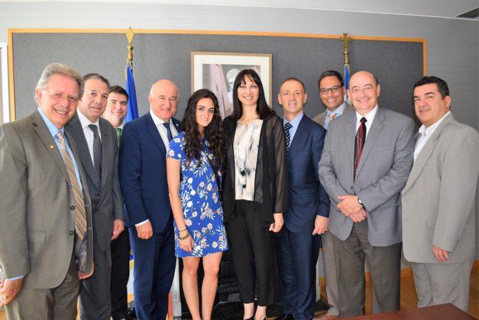 Συνάντηση Κουντουρά με το προεδρείο της Παγκόσμιας Διακοινοβουλευτικής Ένωσης Ελληνισμού Πα.Δ.Ε.Ε.