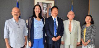 Ανάληψη της διοργάνωσης της «Ιαπωνικής Εβδομάδας 2019» στην Αθήνα – Συνάντηση της Υπουργού Τουρισμού ΄Έλενας Κουντουρά με τον πρέσβη της Ιαπωνίας Yasu (Yasuhiro) Shimizu