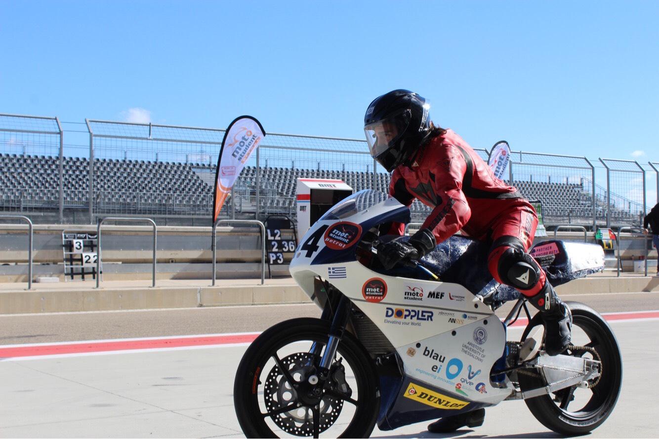 Η ομάδα του ΑΠΘ Panther Racing AUTh στον 5o διεθνή φοιτητικό διαγωνισμό «MotoStudent»