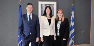 Συνάντηση της Υπουργού Τουρισμού Έλενας Κουντουρά με την Πρόεδρο και Διευθύνουσα Σύμβουλο του WTTC Gloria Guevara Manzo