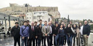 Έλληνες από τον Παναμά στην Ακρόπολη
