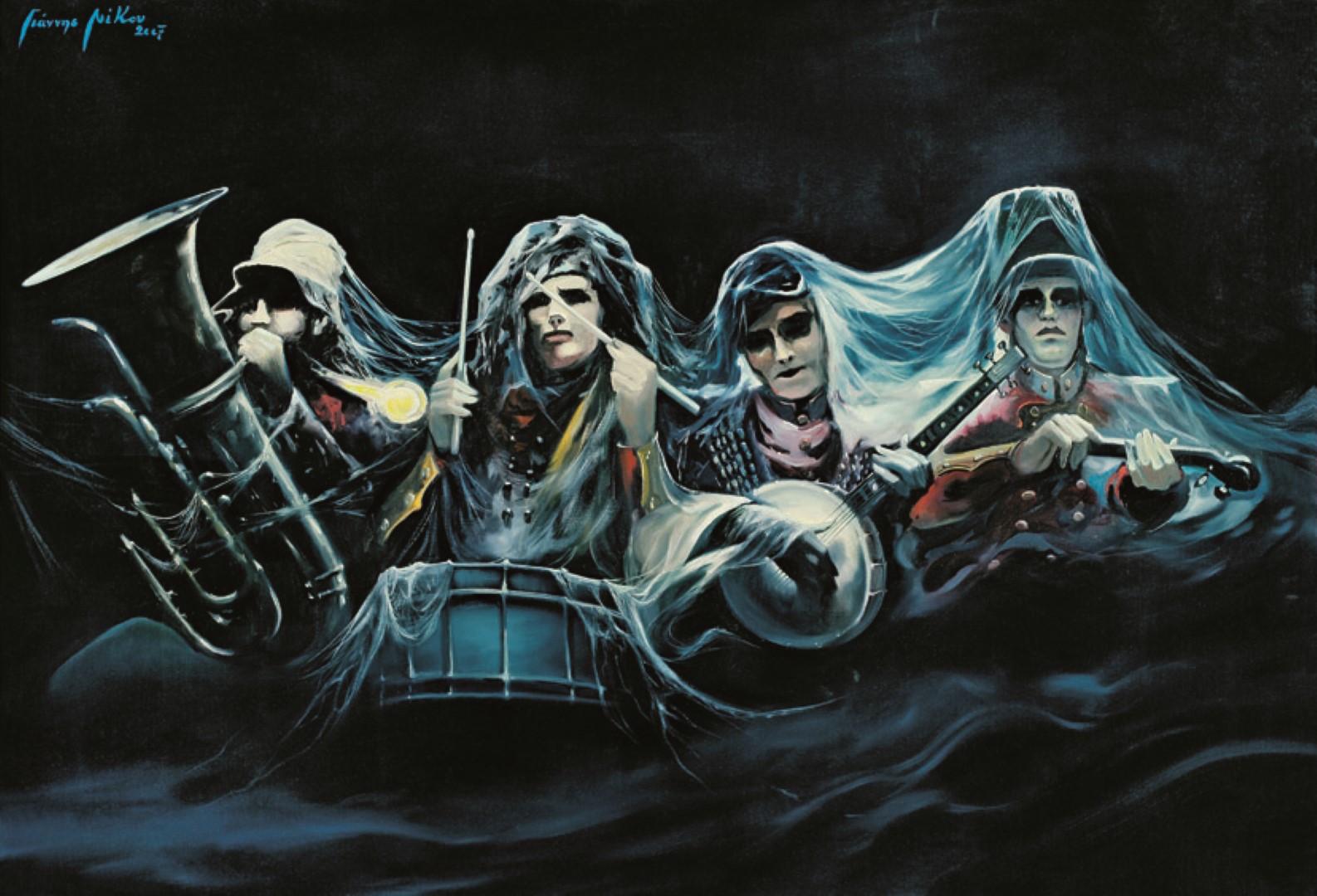 """A Rock Story""  στο Trii Art Hub, Γιάννης Νίκου"