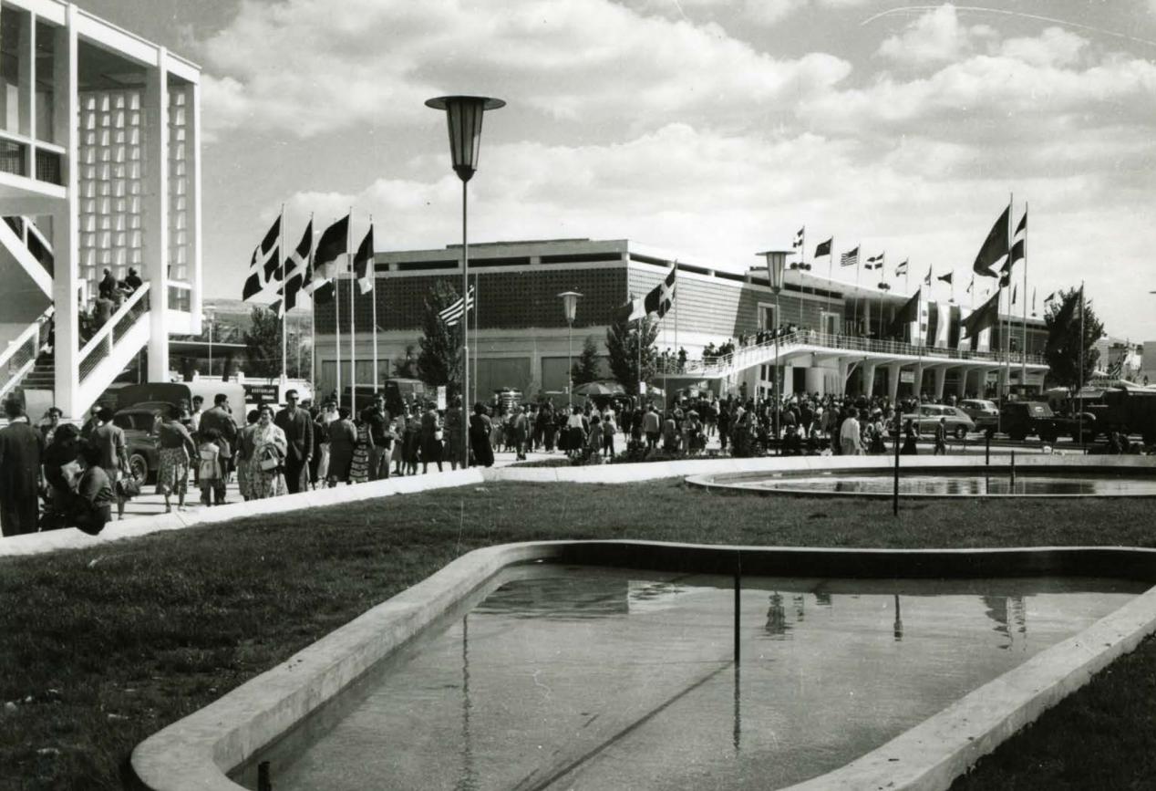 Περίπτερο 2, 1954 / Δ. Τριποδάκης