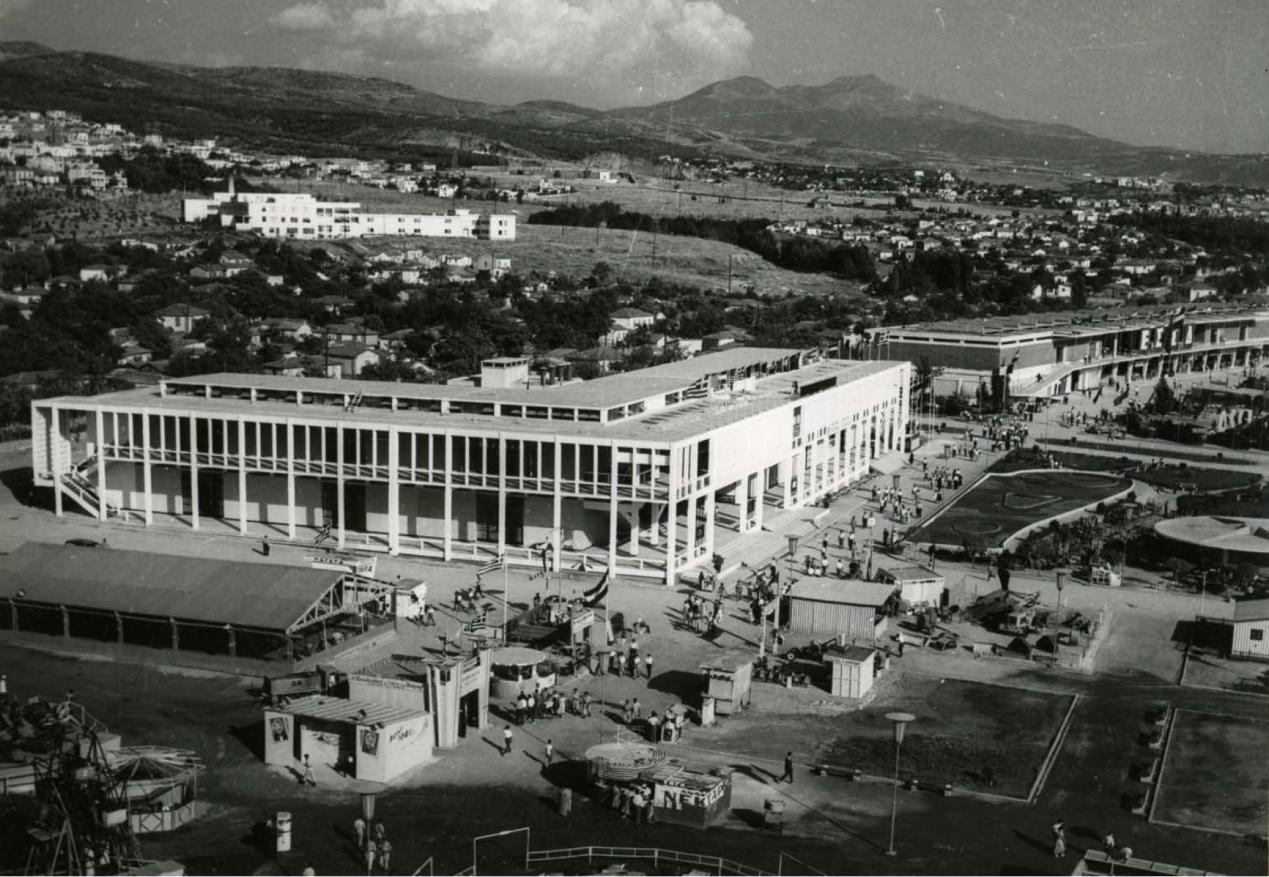 Περίπτερο 1, 1956 / Ν. Εφέσιος, Α. Συμεών