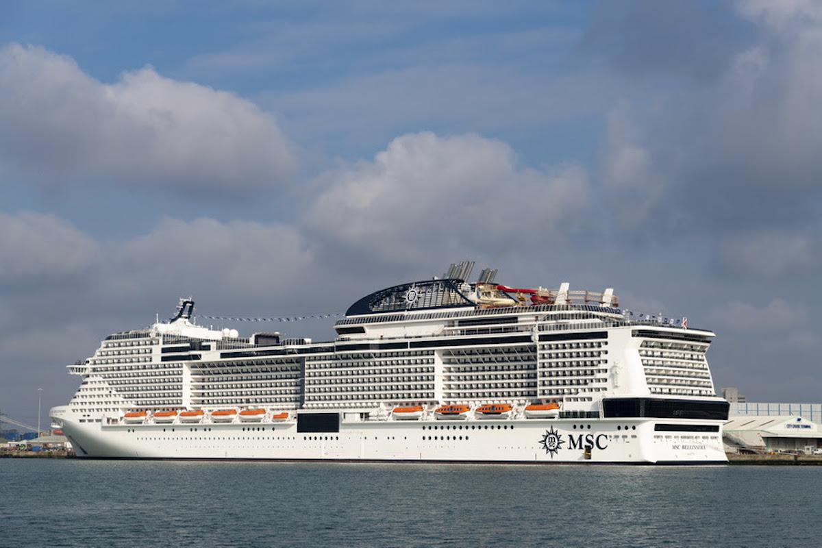 01 March 2019, MSC Bellissima at Southampton