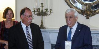 Με το Παράσημο του Ταξιάρχη του Τάγματος της Τιμής τιμήθηκε από τον Πρόεδρο της Δημοκρατίας ο ομότιμο καθηγητής Νεοελληνικής και Βυζαντινής Ιστορίας στο Πανεπιστήμιο του Λονδίνου Roderick Macleod Beaton.